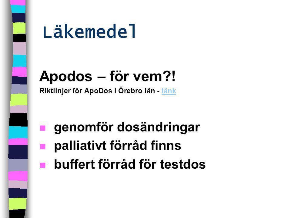 Apodos – för vem .