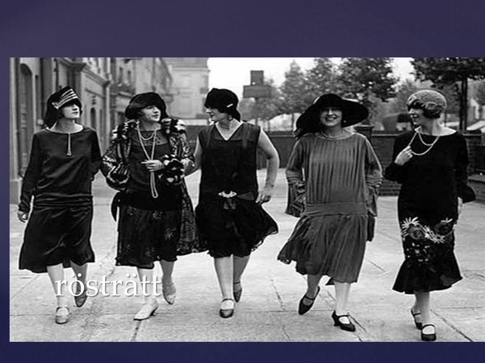 Men 1945 förändrade samhället yterliggare och då genomfördes några lagar som var bra för kvinnor.