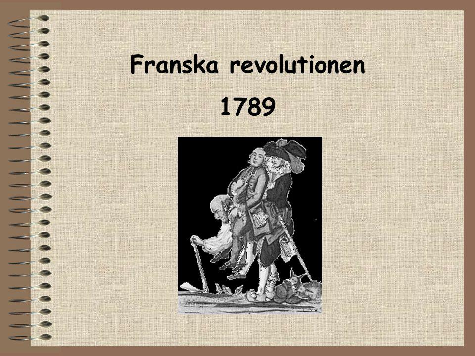 Franska revolutionen 1789 Paris 14 juli 1789