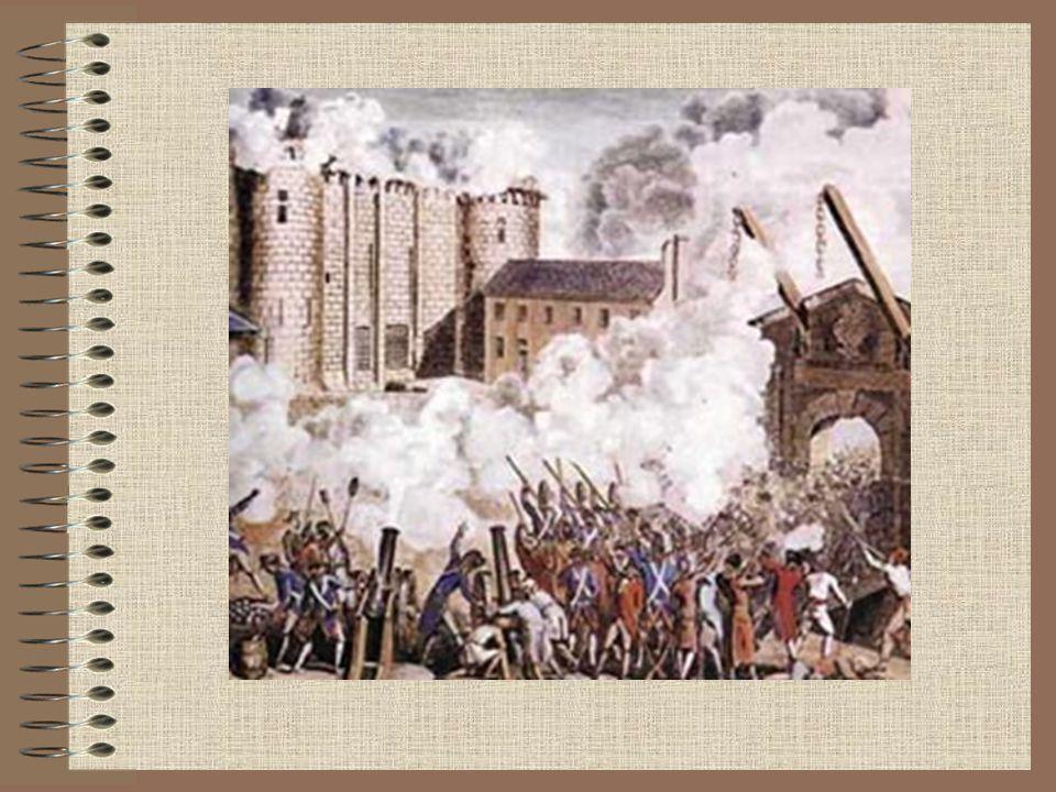 Nya tankar sprids i landet Upplysningen Voltaire Rousseau Bönderna missnöjda med att betala skatt till jordägarna Bondeuppror i hela Frankrike Revolutionen har spritt sig till hela landet Nationalförsamlingen tar bort Adelns privilegier(förmåner)
