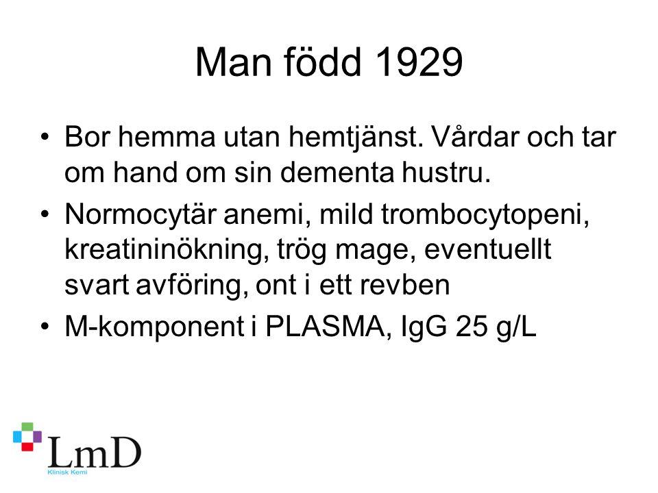 Västerås-Falun, kappa/lambda-kvot