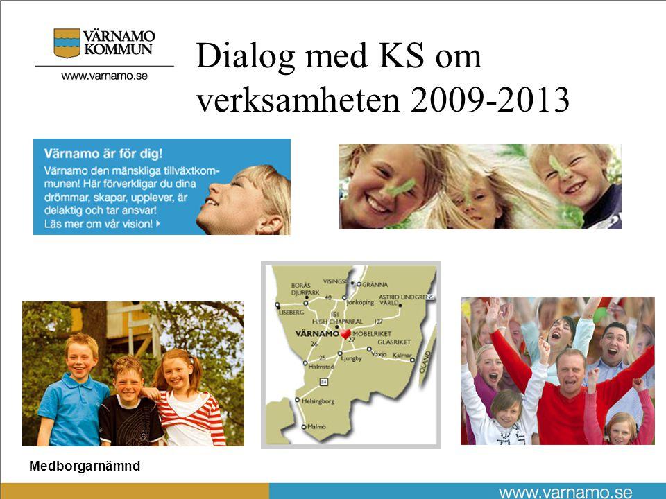Medborgarnämnd Dialog med KS om verksamheten 2009-2013