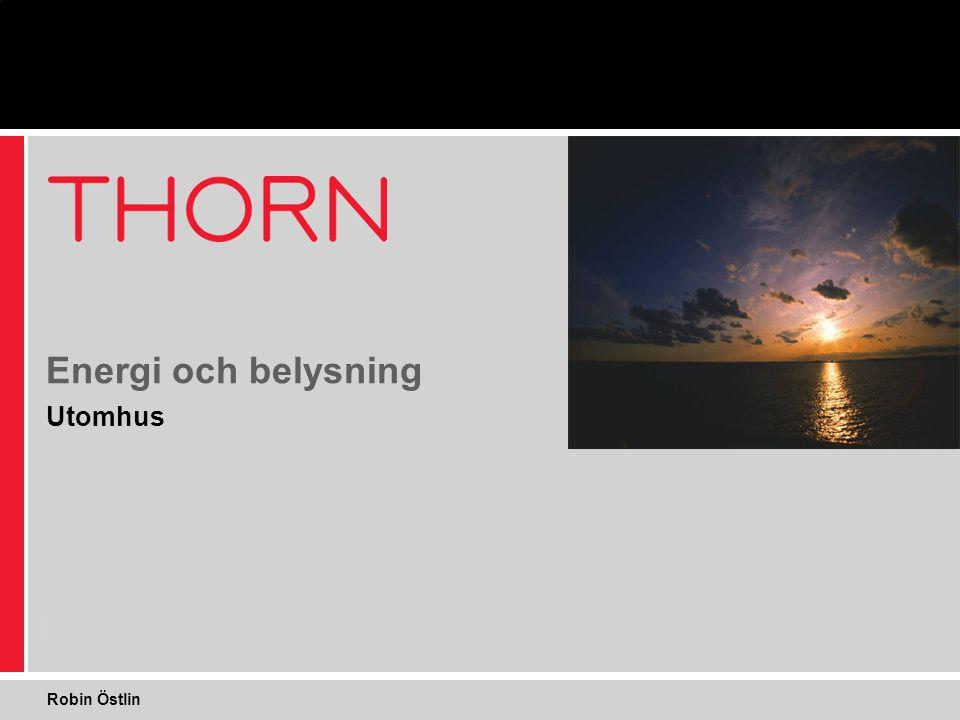 Utomhus Energi och belysning Robin Östlin