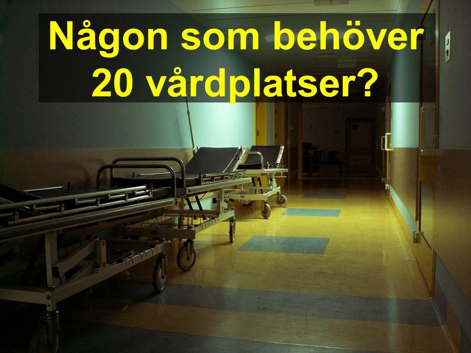 2007-01-30 Kaj Essinger 3:e Patientsäkerhetskonferensen Någon som behöver 20 vårdplatser?