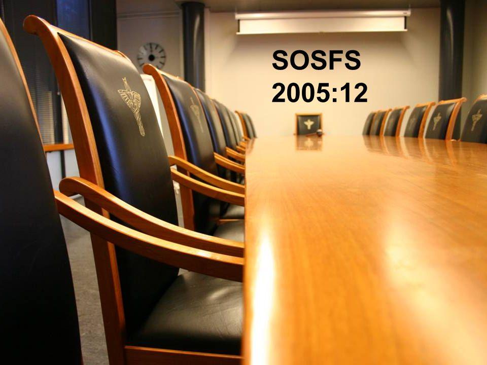 2007-01-30 Kaj Essinger 3:e Patientsäkerhetskonferensen SOSFS 2005:12