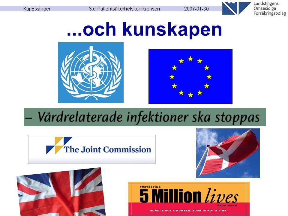 2007-01-30 Kaj Essinger 3:e Patientsäkerhetskonferensen...och kunskapen