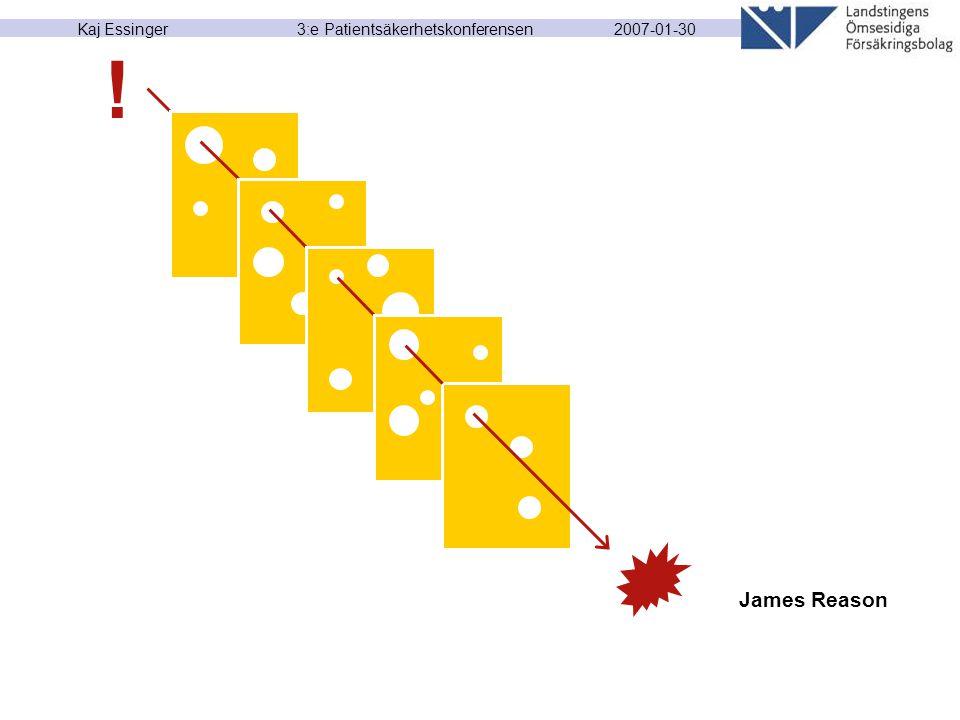 2007-01-30 Kaj Essinger 3:e Patientsäkerhetskonferensen James Reason !