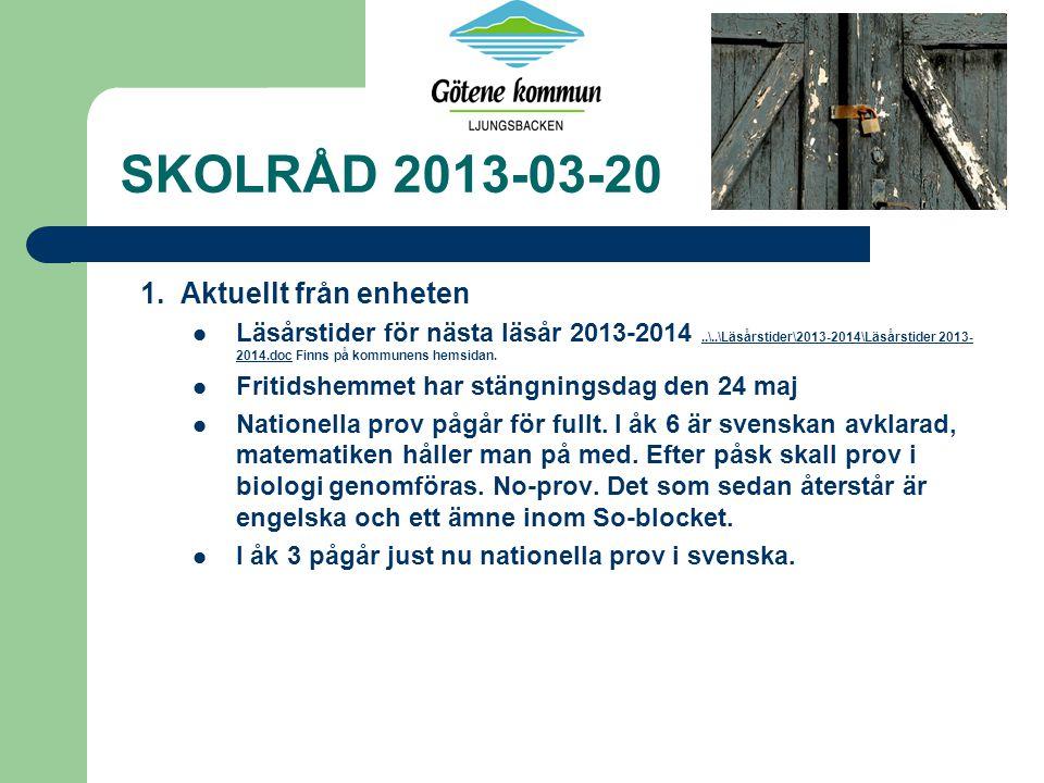 SKOLRÅD 2013-03-20 1.