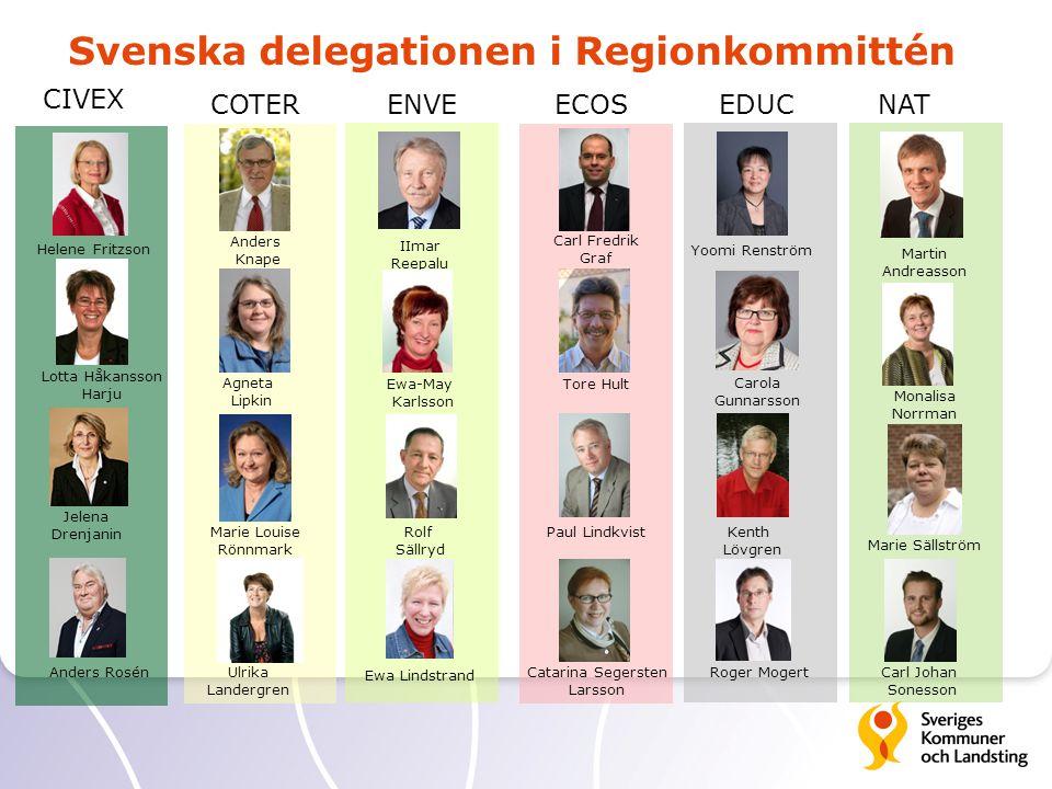 Catarina Segersten Larsson Carola Gunnarsson Ulrika Landergren IImar Reepalu Helene Fritzson Anders Rosén Yoomi Renström Carl Fredrik Graf Anders Knap