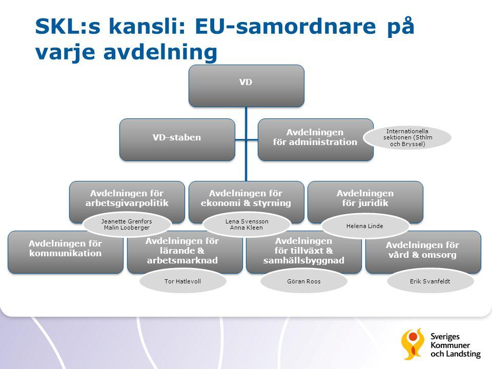 Internationella sektionen på SKL Medlems- stöd Internt stöd Intressebevakning Politiker- stöd