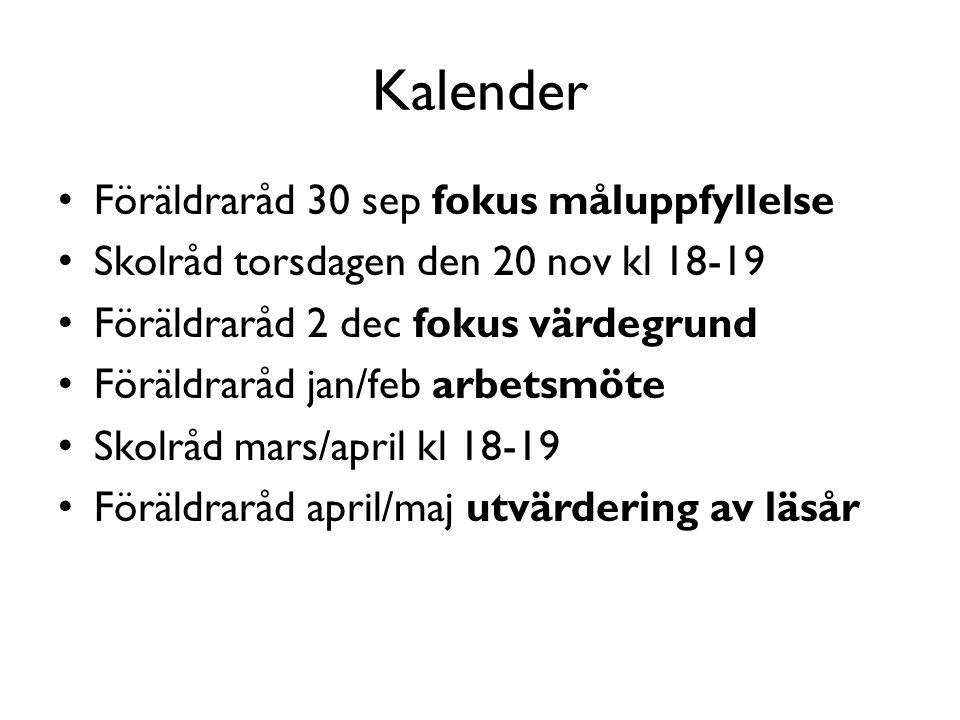 Skolrådsrepresentanter lå 14/15 Anna FSK Karin E åk 2 Marie L åk 5 Mats P åk 7 Jessica H åk 8 Kristina M åk 8 Helena L åk 9