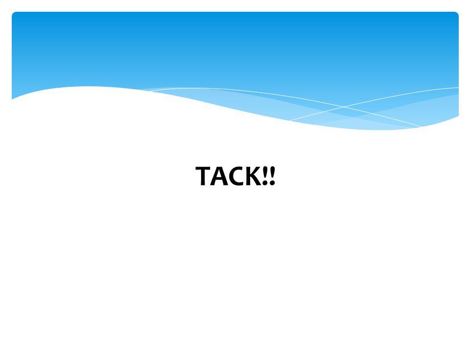 TACK!!