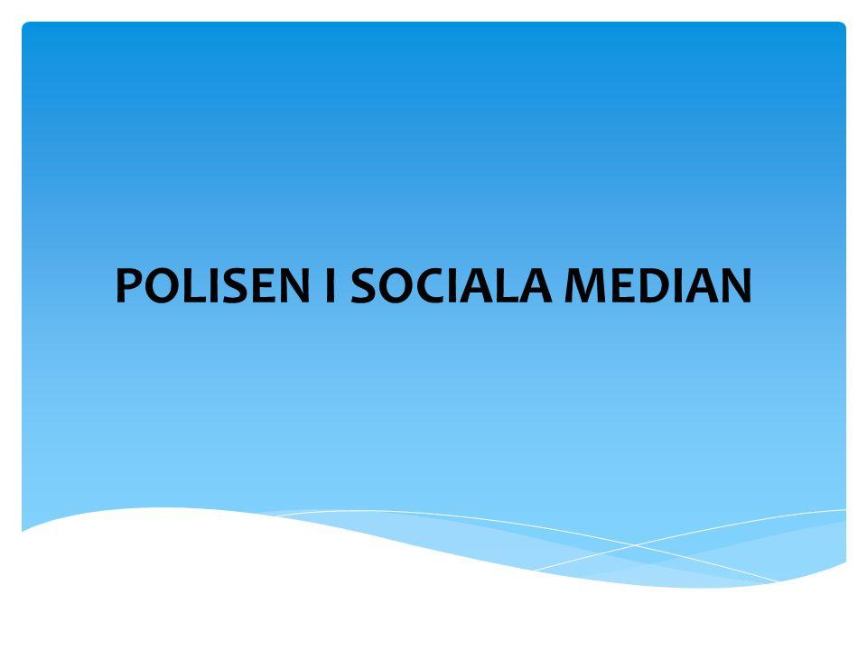 POLISEN I SOCIALA MEDIAN