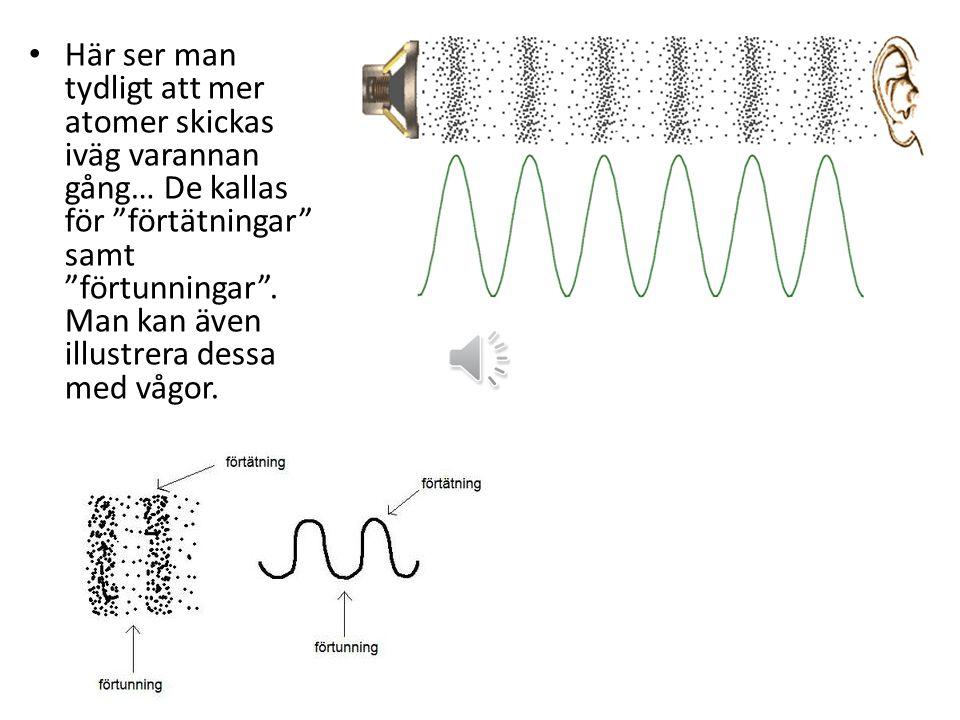 Resonans Resonans är när flera saker vibrerar i samma takt (med samma frekvens) och därmed förstärker varandra.