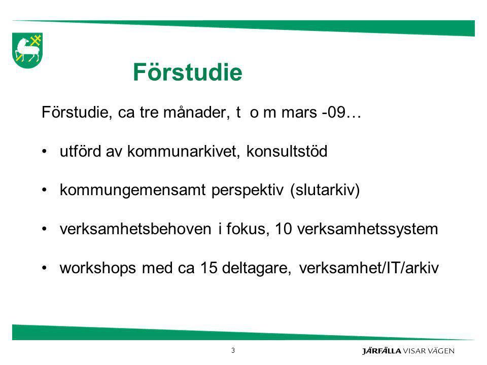 Definitioner (2) Bevarande = Förfaranden och åtgärder som syftar till att säkerställa att autentiska dokument bevaras tekniskt och innehållsmässigt. Ur; SS-ISO 15489 – 1, Svensk, internationell standard för dokumenthantering 24