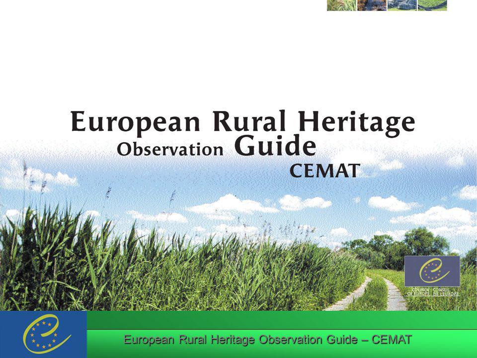 European Rural Heritage Observation Guide – CEMAT III.III.