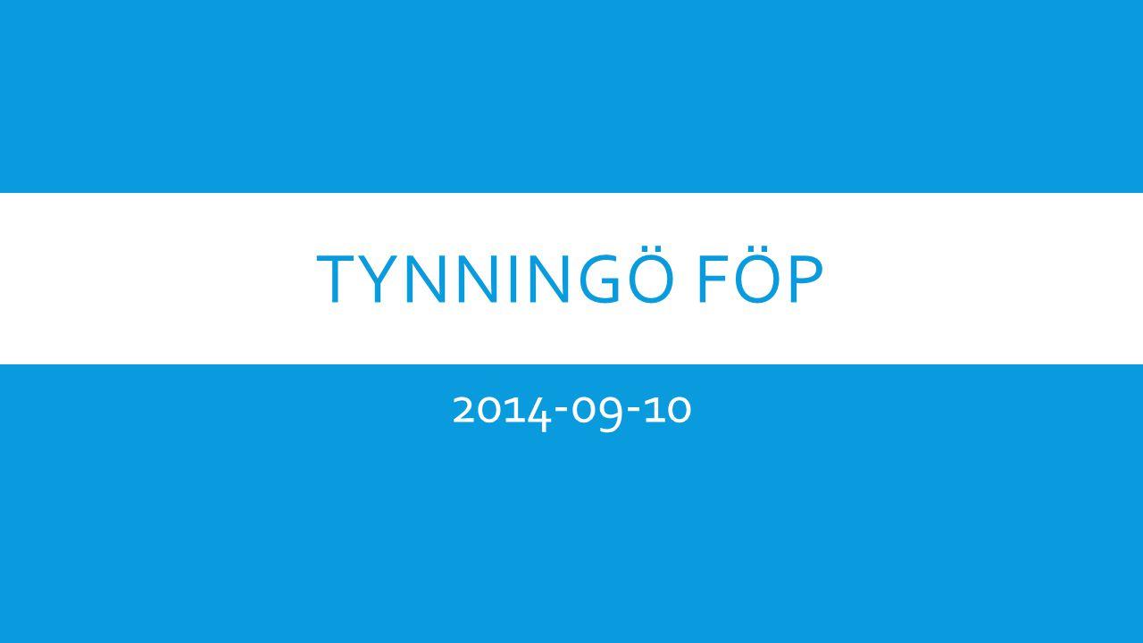 TYNNINGÖ FÖP 2014-09-10