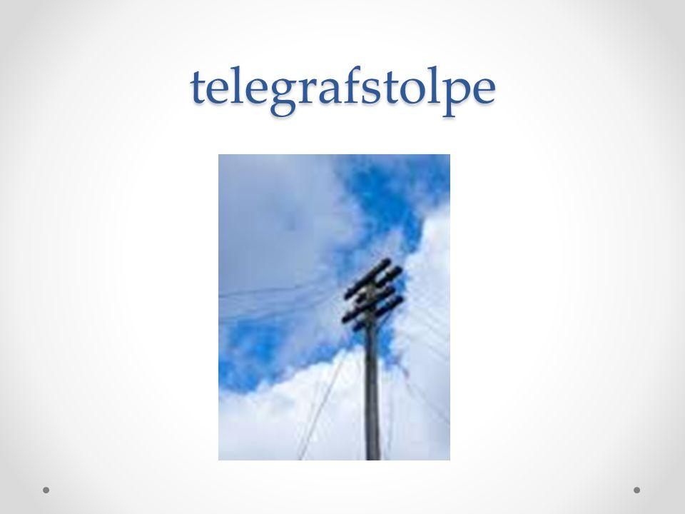 telegrafstolpe
