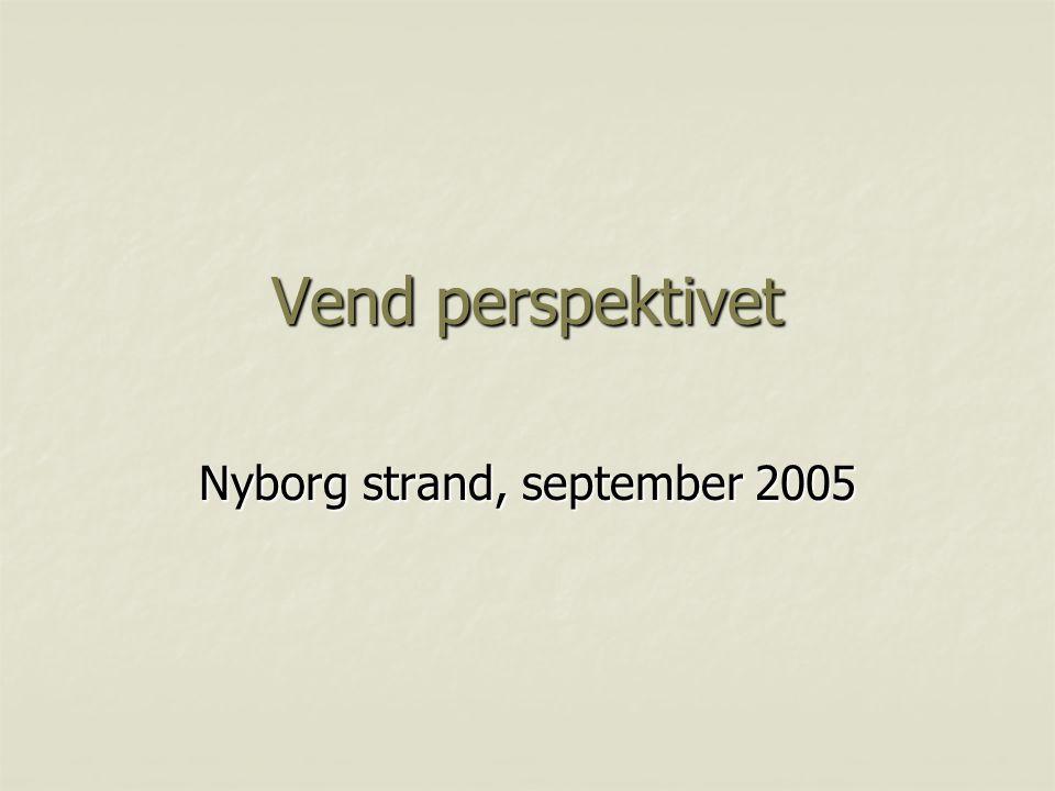 Vend perspektivet Nyborg strand, september 2005