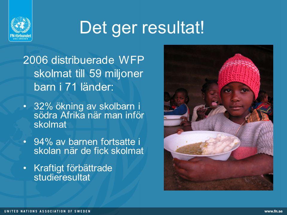 Flickor Flickor utgör flertalet av de barn som inte går i skolan När flickor går i skolan: -minskar risken för HIV med 50% -föder de 50% färre barn - 50% mindre risk att deras barn svälter - 50% större möjlighet att deras barn går i skola