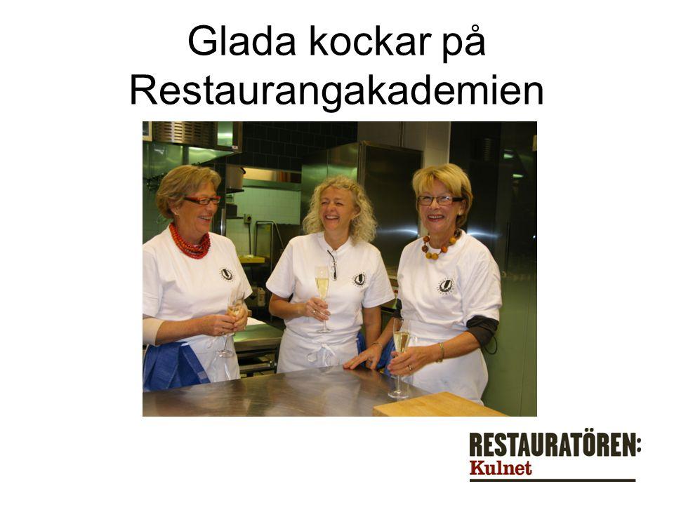 Glada kockar på Restaurangakademien