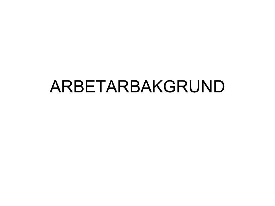 ARBETARBAKGRUND