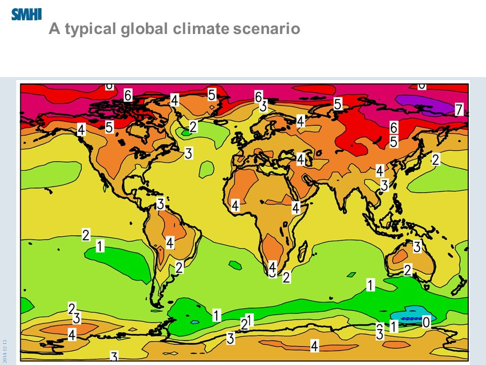 2014-12-13 A typical global climate scenario