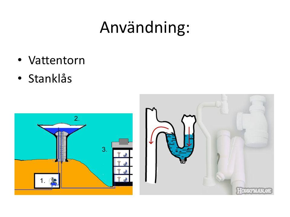 Lufttryck Lufttrycket beror på luftpelarens tyngd.