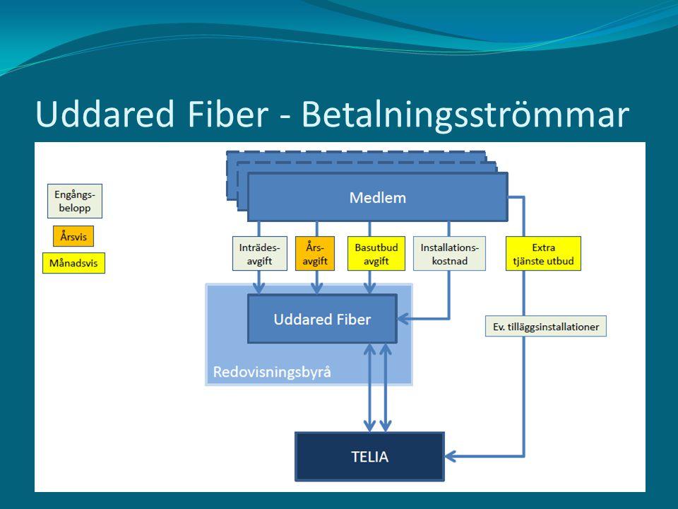 Uddared Fiber - Betalningsströmmar