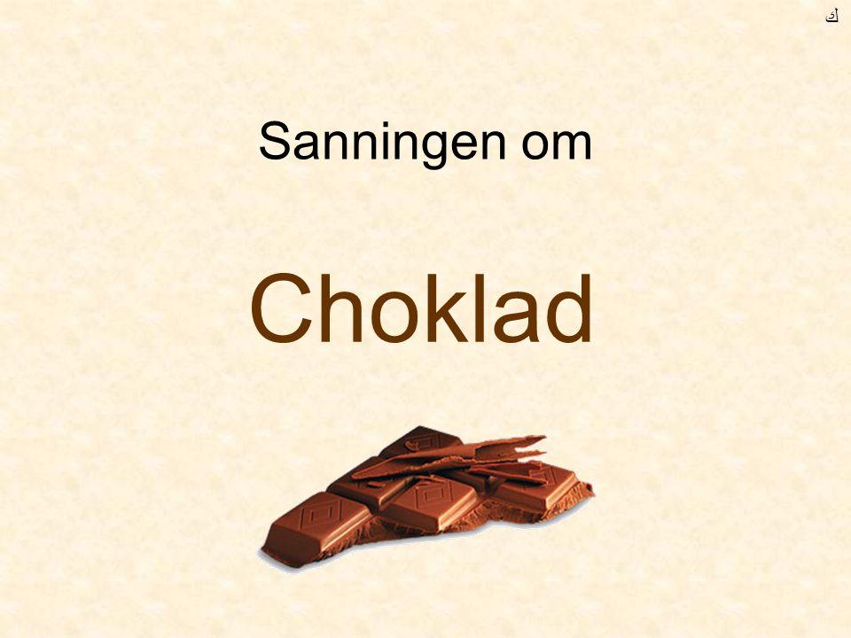 Chokladen talar om din ålder ! Fuska inte !