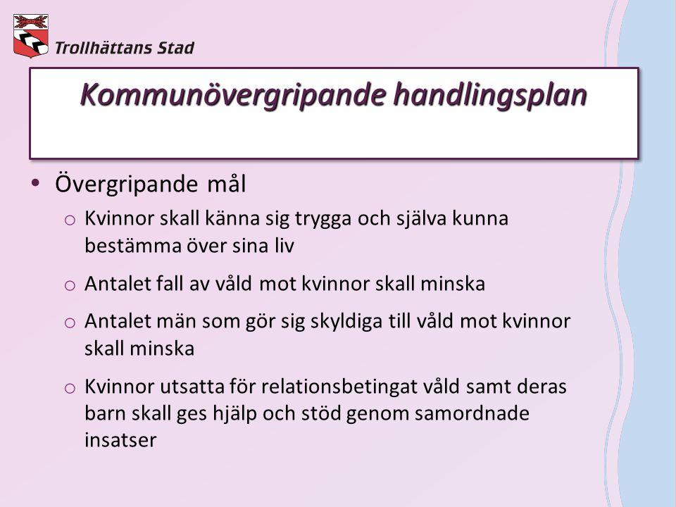 Kvinnofridsinstruktörernas ansvar  Bärare av frågan om relationsbetingat våld.