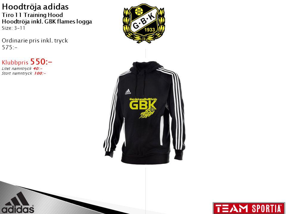 Hoodtröja Team Sportia Hoodtröja med GBK flames logga Size: JR:120,140,160 SR: XS-XXL Ordinarie pris inkl.