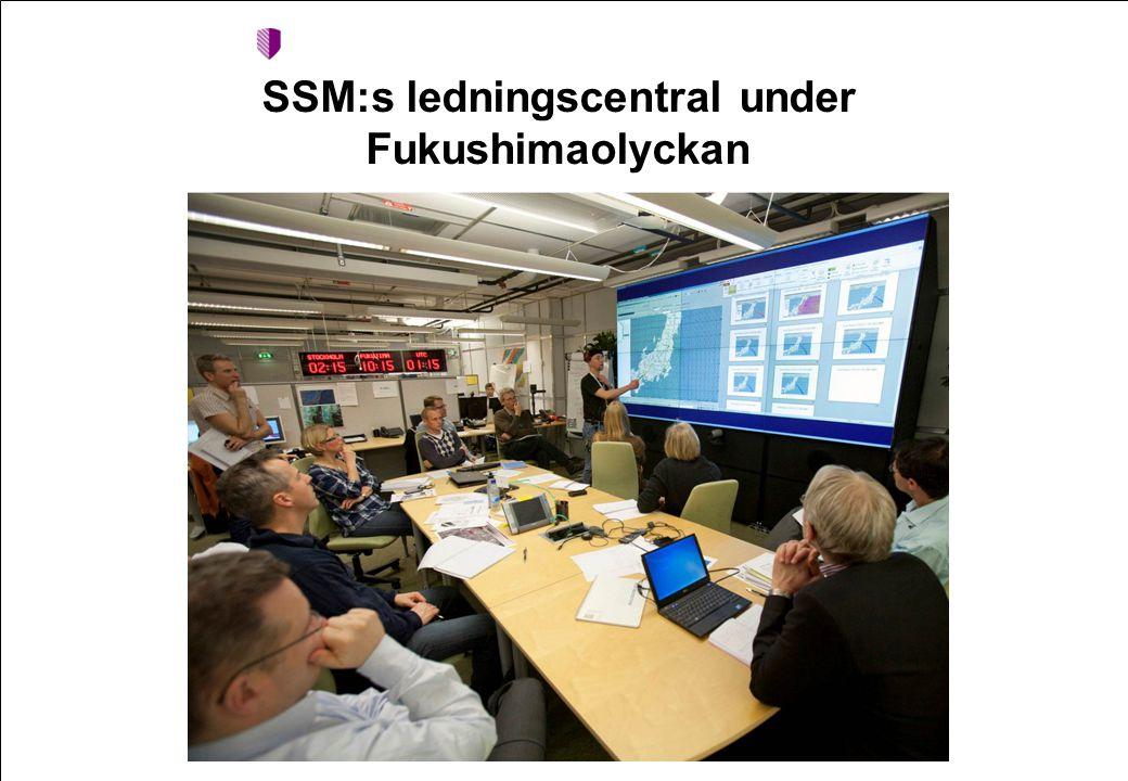 2008-09-24 Namn Namnsson SSM:s ledningscentral under Fukushimaolyckan