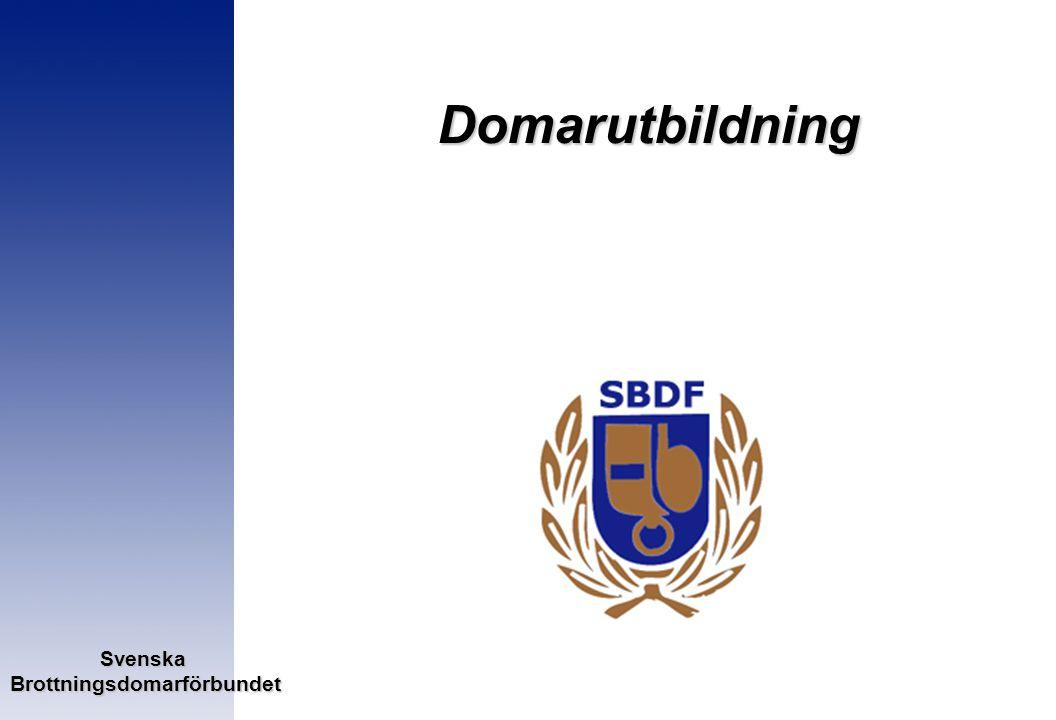 SvenskaBrottningsdomarförbundet Domarutbildning