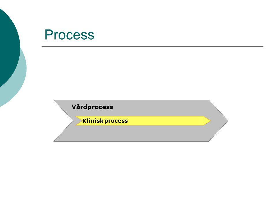 Process Klinisk process Vårdprocess