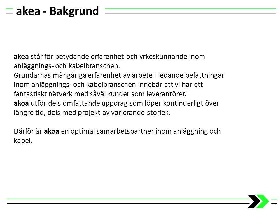 akea – Kontor Huvudkontor och faktureringsadress Kontor Malmö Strömgatan 11 212 25 Malmö Fax: 040-93 22 30 Kontor Helsingborg Blockgatan 4 254 64 Helsingborg Fax: 042-16 54 55