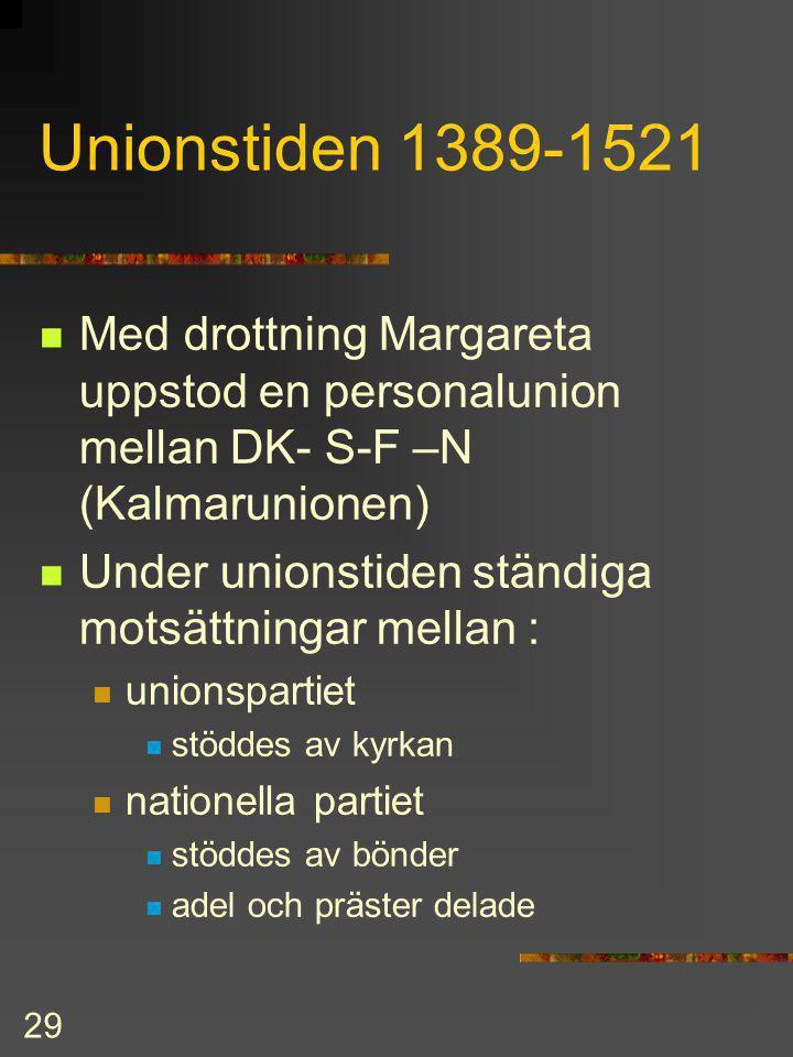 28 Ursprungligen gällde olika lagar i varje landskap. I Finland gällde Hälsingelagen RÄTTSKIPNINGEN Högst stod kungen som man kunde vädja till lagmans
