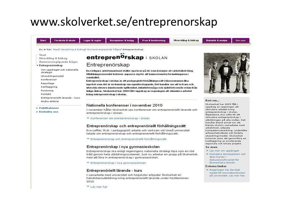 www.skolverket.se/entreprenorskap