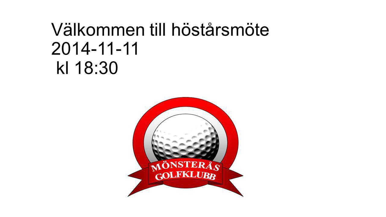 Förslag till dagordning Höstårsmöte för MGK 2014 1.