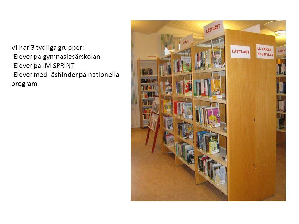 Läsnivå 3 LUS 10, 11 Böcker för lästräning med längre meningar men enkel meningsbyggnad.