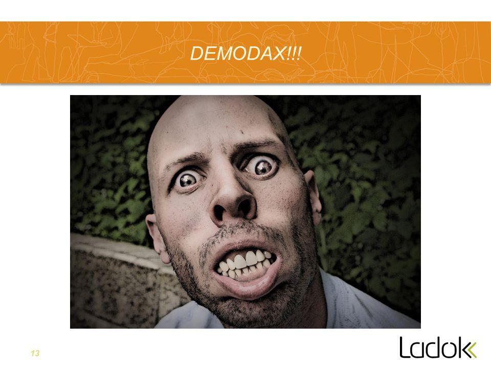 13 DEMODAX!!!