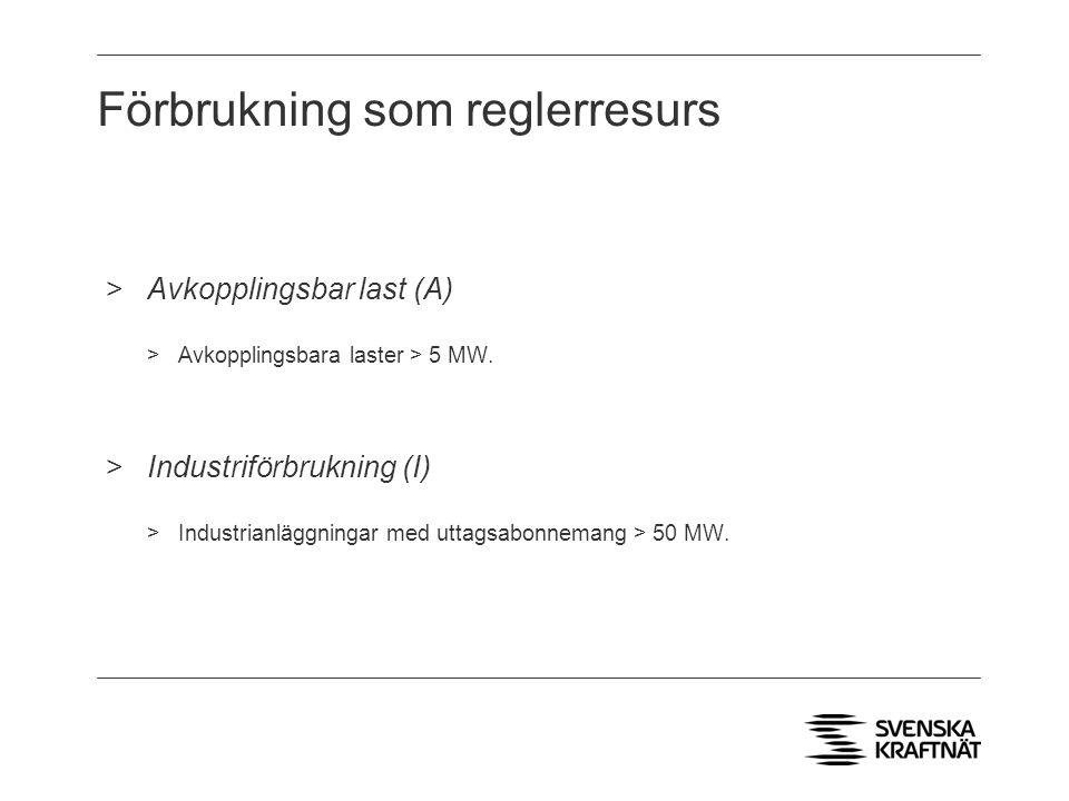 Förbrukning som reglerresurs >Avkopplingsbar last (A) >Avkopplingsbara laster > 5 MW.