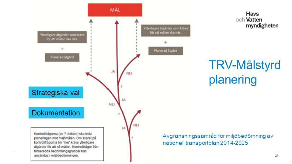"""För att ändra/uppdatera/ta bort """"Presentationsnamn"""" och """"Namn"""" i foten, gå in på """"Infoga - Sidhuvud/sidfot"""" TRV-Målstyrd planering Jan Schmidtbauer Cr"""