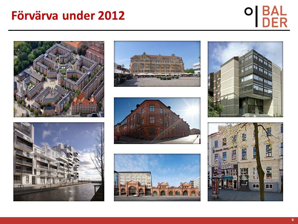 6 Förvärva under 2012