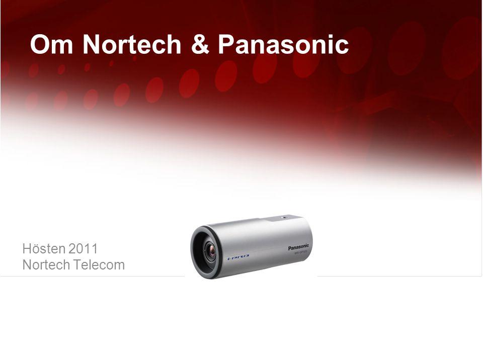 2  Om Nortech Telecom  Om Panasonic Nordic Agenda 2