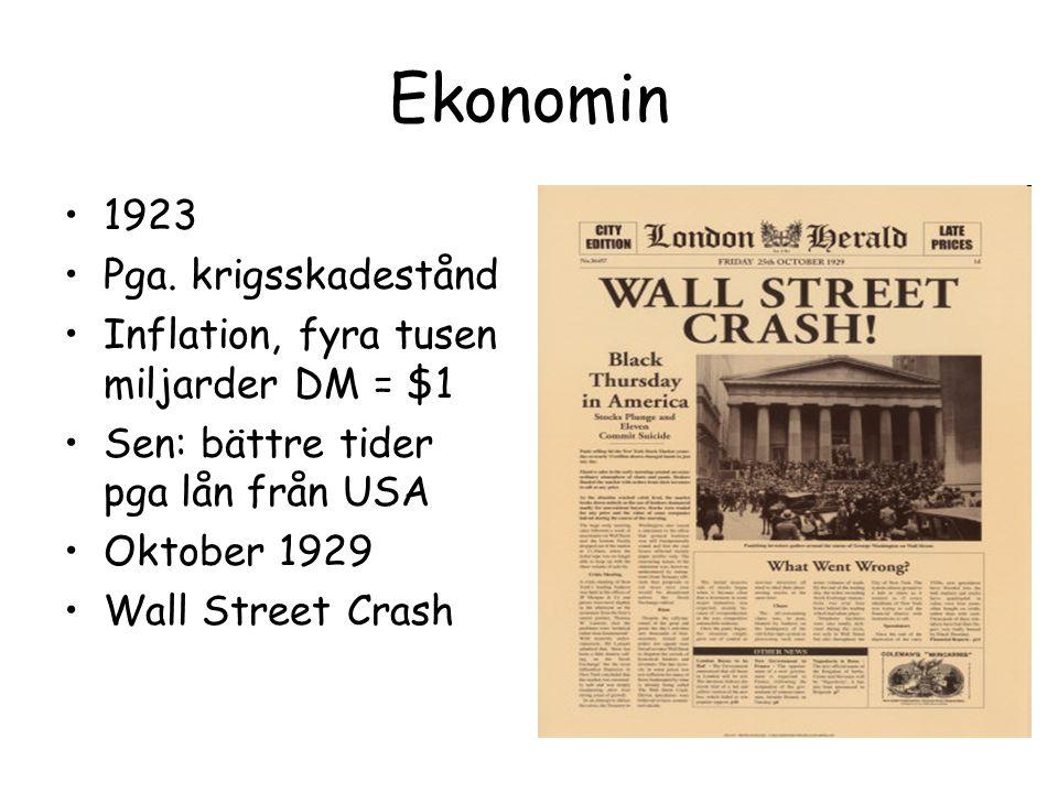 Ekonomin 1923 Pga.