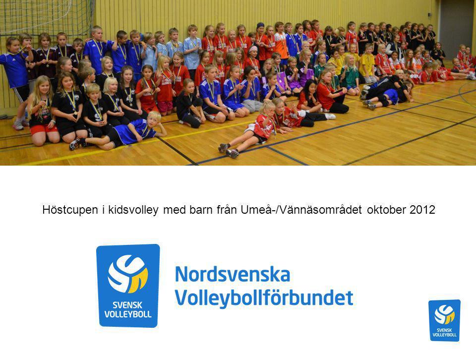 Breddläger för 98:or i Skellefteå oktober 2012 med 40 deltagare (våra första kidsvolleylirare) Nordsvenska VBF deltar med pojklag på DistriktsSlaget 2013!!