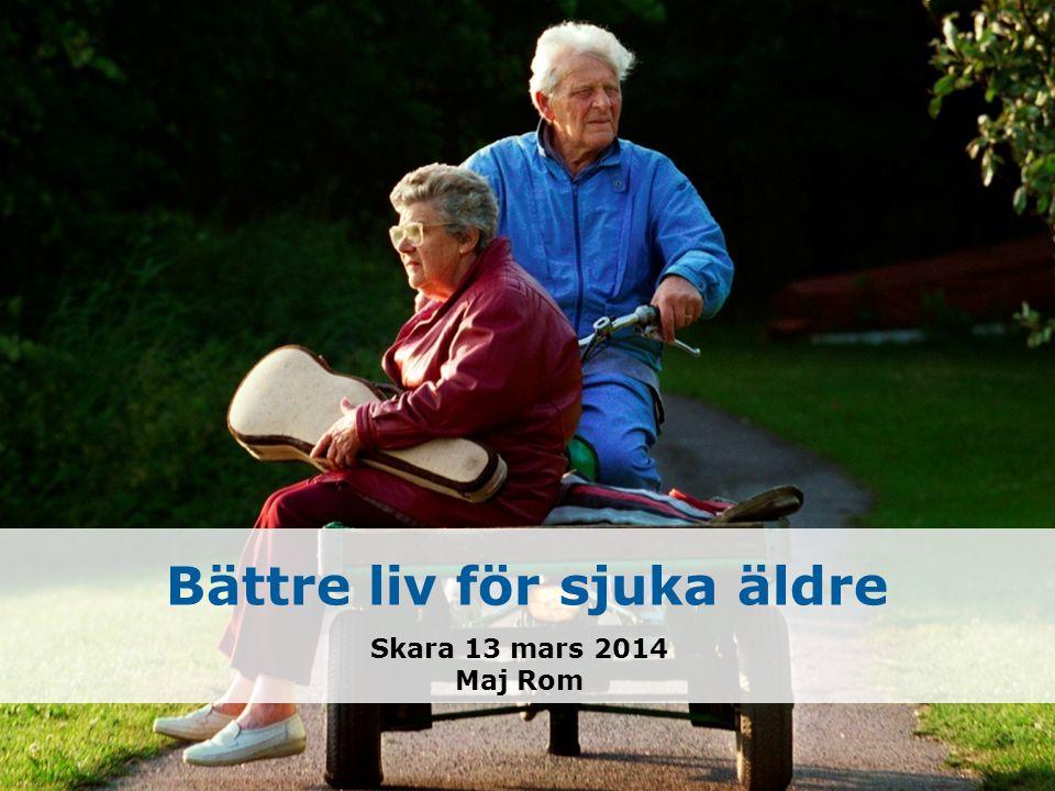 Bättre liv för sjuka äldre Skara 13 mars 2014 Maj Rom