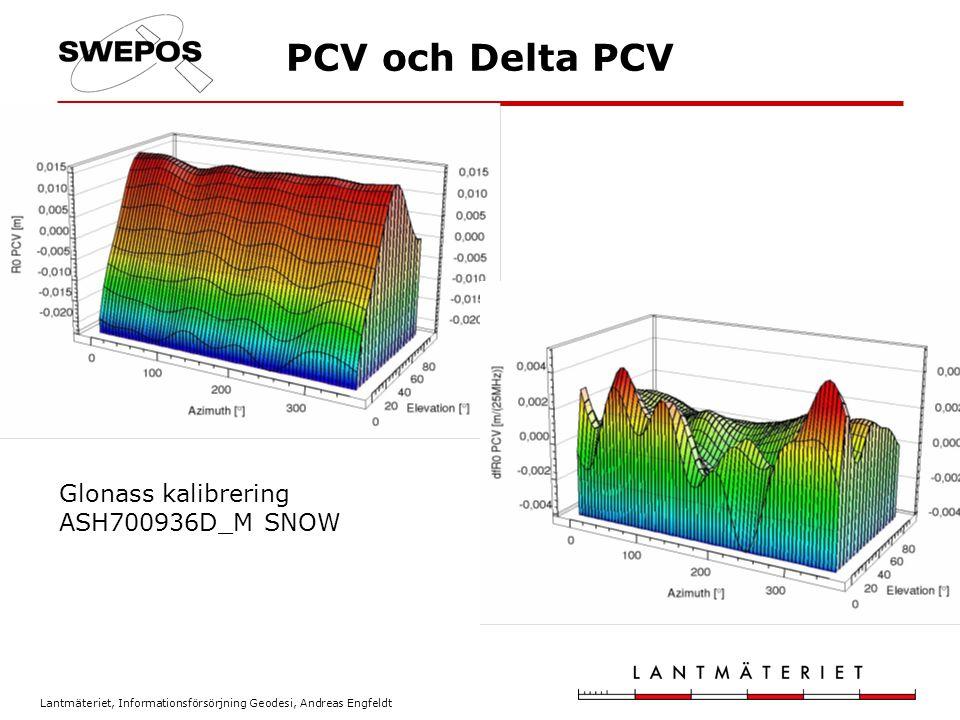 Lantmäteriet, Informationsförsörjning Geodesi, Andreas Engfeldt PCV och Delta PCV Glonass kalibrering ASH700936D_M SNOW
