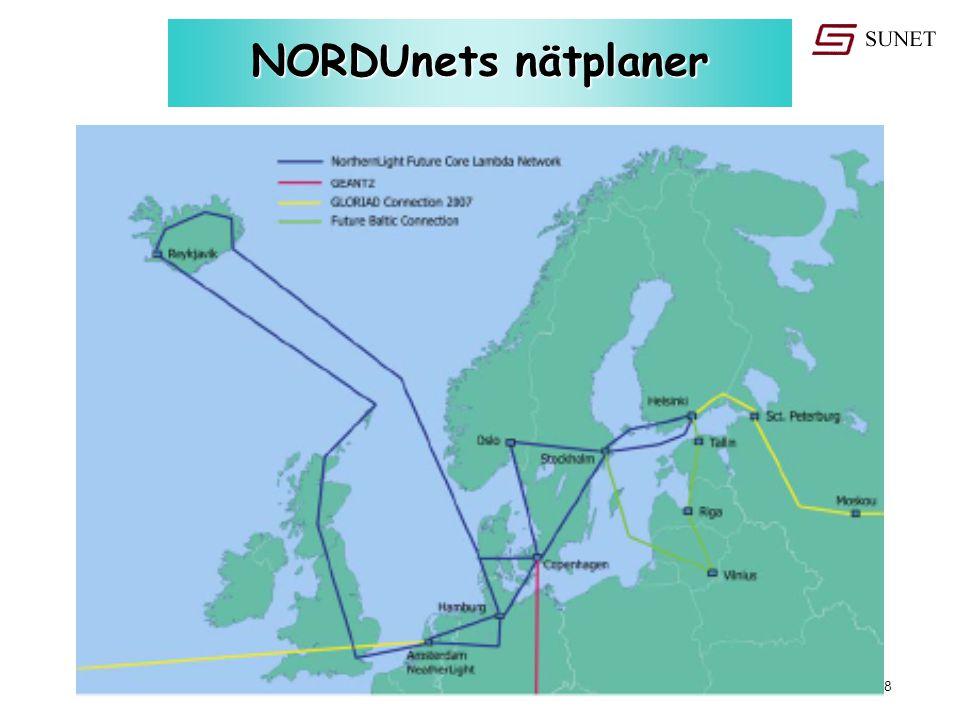 18 oktober 2006 - #18 NORDUnets nätplaner